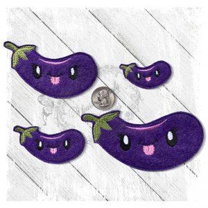 Veggie Cute Eggplant