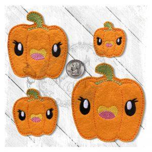 Veggie Cute Pepper Orange