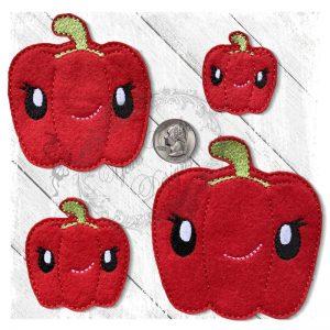 Veggie Cute Pepper Red
