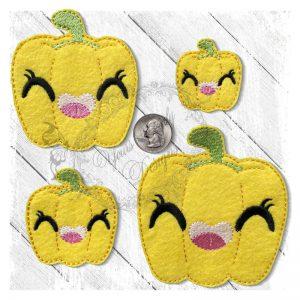 Veggie Cute Pepper Yellow