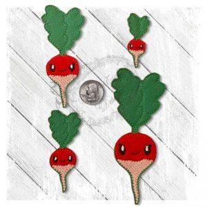 Veggie Cute Radish