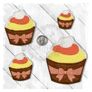 Cupcake Candy Corn Frosting