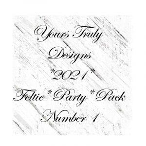 YTD Feltie Design Party Pack 1
