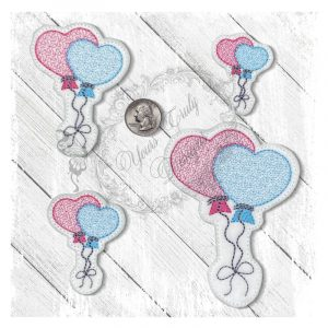 Baloon Balloon Love Motif