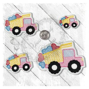 Love Dump Truck Motief