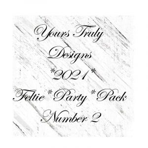 Feltie Design Party Pack TWO
