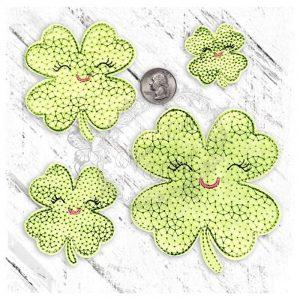 Clover Cutie 4 leaf Motief