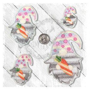 Gnome Carrot Head Motief