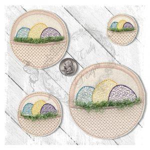 Official Easter Egg Hunter Basket Motief
