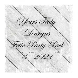 Feltie Design Party Pack 3