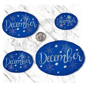 December Snowflakes