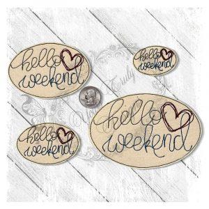 Hello Weekend Heart