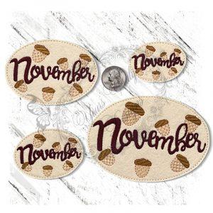 November Acorns