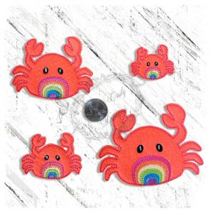 Rainbow Ocean Friend Crab
