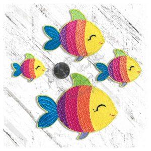 Rainbow Ocean Friend Fish Rainbow
