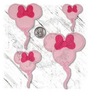 Mousey Balloon Girl