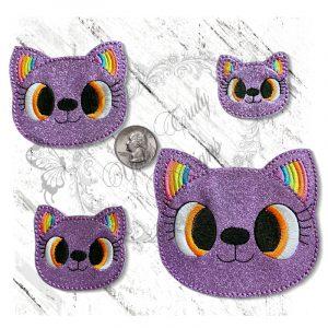 Rainbow Ear Kitty