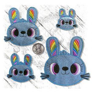 Rainbow Ears Bunny