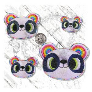 Rainbow Ears Panda