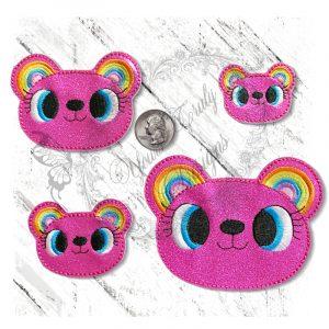 Rainbow Ears Teddy