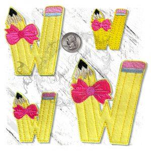 Pencil W Pretty